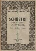 Streichquartett String Quartet – Quatuor à Cordes D moll, D minor, Ré mineur, op. Posth., Philahrmonia n. 352 (W. Ph. V. 352) QUARTETTO D'ARCHI