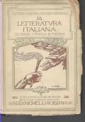 LA LETTERATURA ITALIANA DISEGNO STORICO ESTETICO