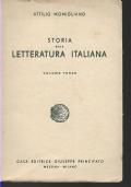 STORIA DELLA LETTERATURA ITALIANA VOL. III