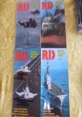 R.I.D. Rivista Italiana Difesa n. 25 riviste tra il 1986 e il 1991