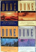Il preludio a Dune - lotto libri romanzi saga fantascienza Casa Atreides Il Duca Leto I ribelli dell'Impero Vendetta Harkonnen PRIMA EDIZIONE