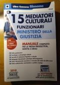 15 Mediatori Culturali Funzionari Ministero della Giustizia