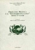 Francesco Mantica e il Risorgimento civile degli italiani