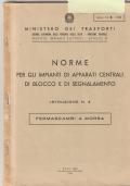 FERMASCAMBI A MORSA - ISTRUZIONE DELLE FF.SS.