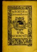 POESIE DI GIOVANNI PASCOLI III - NUOVI POEMETTI
