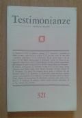 Testimonianze n.321