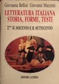 La letteratura italiana Storia, forme, testi 2 ** Il seicento e il settecento