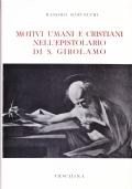 Motivi umani e cristiani nell'epistolario di S. Girolamo