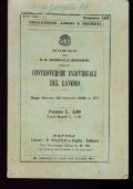 DISPOSIZIONI SUL CONTRATTO D'IMPIEGO PRIVATO REGIO DECRETO 13 NOVEMBRE 1924, n. 1825 REGIO DECRETO LEGGE 22 MARZO 1928, n. 740