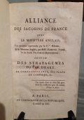 Alliance des Jacobins de France avec le Ministere Anglais... suive des stratagemes di Fr. Drake