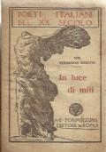 In luce di miti. Poeti italiani del XX secolo