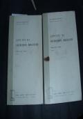 appunti di costruzioni idrauliche vol. 1  -2
