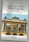 Villa Rusconi a Castano Primo - storia, conservazione, progetto