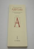 ALBERTIANA  Rivista annuale pubblicata dalla Société Internationale Leon Battista Alberti  Anno 2006 - N. 9