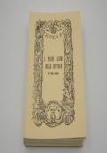 Carteggio. Vol. 1: 1861-1880