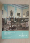 CHRISTIE'S Roma. 1985. Ceramiche, oggetti d'arte, mobili, tappeti, argenti e orologi