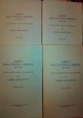 ASPETTI DELLA POLITICA LIBERALE (1881-1922) discorsi parlamentari pubblicati per deliberazione
