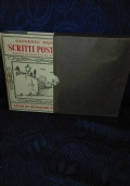 SCRITTI POSTUMI TOMO II Pagine di diario e di appunti