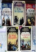 Epopea dei Mallorean - lotto 5 libri saga fantasy SERIE COMPLETA La Maga di Darshiva La Profetessa di Kell