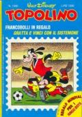 Topolino nr. 1590- 18 maggio  1986