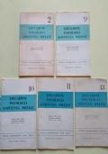 LOTTO 5 NUMERI DELLA RASSEGNA DELLA STAMPA PEDAGOGICA E SOCIOLOGICA DEGLI STATI UNITI-EDUCAZIONE-PSICOLOGIA-ASSISTENZA-SOCIALE