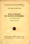 ITALIA E FRANCIA NEL SECONDO DOPOGUERRA. IL CASO VITTORINI-SARTRE