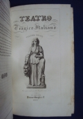 Teatro tragico italiano 1832 Volume unico ----IN OFFERTA-----