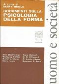 Documenti sulla psicologia della forma