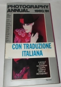 PHOTOGRAPHY ANNUAL 1980-81 INTERNATIONAL EDITION CON TRADUZIONE ITALIANA