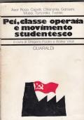PCI, CLASSE OPERAIA E MOVIMENTO STUDENTESCO