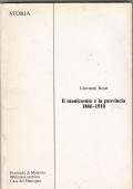 IL MANICOMIO E LA PROVINCIA 1866-1910--- MANTOVA--