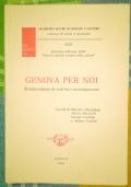 Genova per noi. Testimonianze di scrittori contemporanei