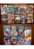 Isaac Asimov Science Fiction Magazine. 18 Voll.