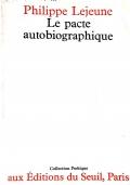Le Pacte Autobiographique