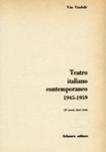 TEATRO ITALIANO CONTEMPORANEO 1945-1959