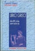 Lirici greci dell'eta arcaica