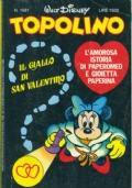 Topolino nr. 1627-  1 febbraio 1987