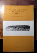 DOCUMENTI PER LA STORIA DEL TERRITORIO DI CAIRATE  Dalle origini all'Alto medioevo