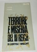 TERRORE E MISERIA DEL III REICH DI BERTOLT BRECH