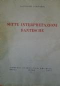 Sette interpretazioni dantesche