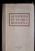 questioni di storia moderna