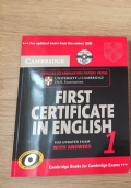 First certificate in english 1