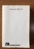Microsoft DOS 5.0