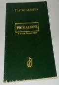 PROGRAMMA SPETTACOLO PIGMALIONE DI GEORGE BERNARD SHAW DEL TEATRO QUIRINO