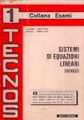 Tecnos 1 - Sistemi di equazioni lineari