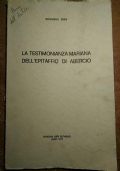 LA TESTIMONIANZA MARIANA DELL'EPITAFFIO DI ABERCIO (ceppo, epigrafe)