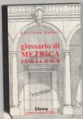 GLOSSARIO DI METRICA ITALIANA