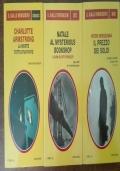 Lotto 3 libri giallo Mondadori