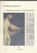 ECATEO DI MILETO TESTIMONIANZE E FRAMMENTI