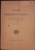Opere di Benedetto Croce pubblicate dalla casa editrice Gius. Laterza & figli